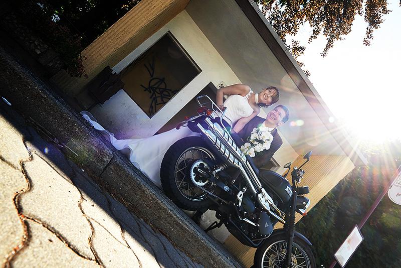 mit dem Motorrad zum Standesamt?
