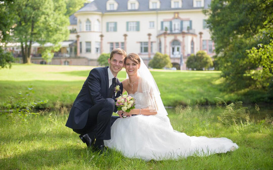 Deborah und Stefans Trauung in Chemnitz und Feier im Gästehaus Wolfsbrunn
