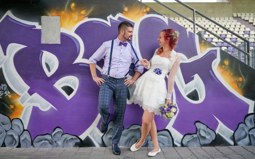 Willkommen im Schacht – Hochzeit im Erzgebirgsstadion Aue